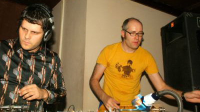 Frank Popp i Cpt. Sparky, klub Paprotka 2006