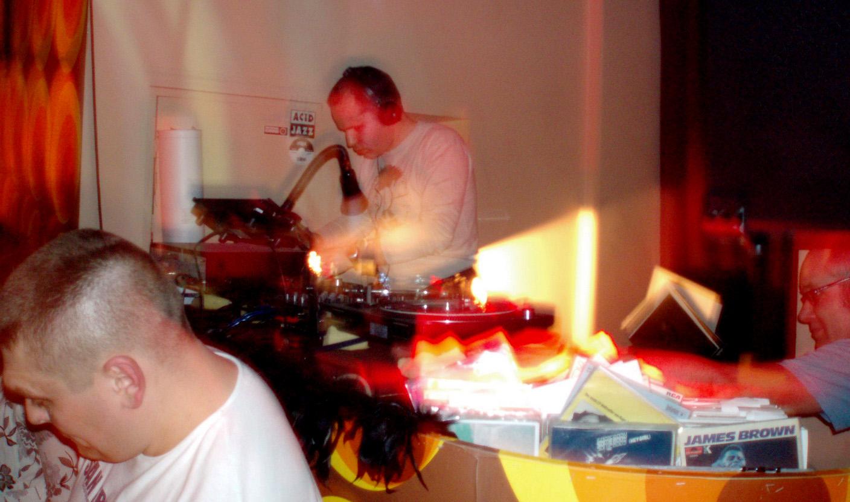 Andreas Kinzl i Cpt. Sparky, Klub Paprotka, 2006